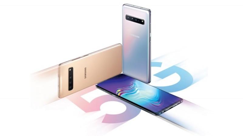 第一支支援5G網路服務的手機三星Galaxy S10 5G版,將於4/5韓國上市。(圖擷取自Sumsung)