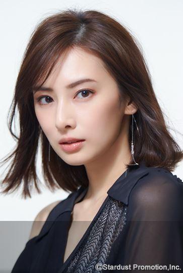 北川景子銳利的眼型和眉毛受到許多女性青睞。(圖取自stardust經紀公司介紹頁面)