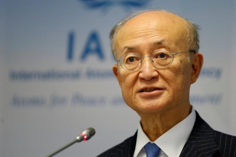 國際原子能總署總幹事天野之彌。(路透檔案照)