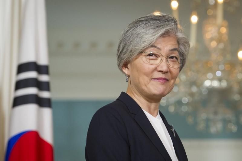 南韓外交部日前在官網發布的訊息,竟把「波羅的海」國家拉脫維亞、立陶宛和愛沙尼亞,寫成「巴爾幹」國家圖為南韓外交部長康京和。(美聯社)