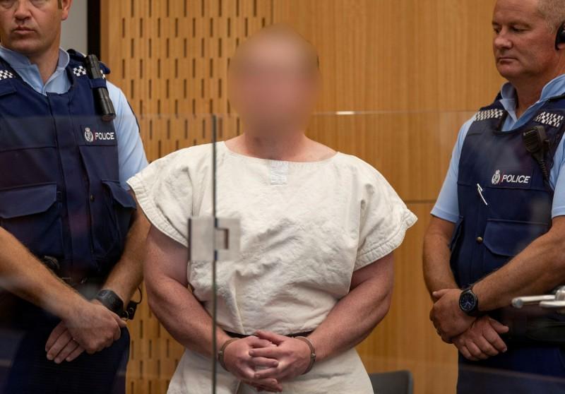28歲的澳洲籍白人槍手塔蘭特(Brenton Tarrant)遭控50項謀殺罪及39項謀殺未遂罪。(路透)