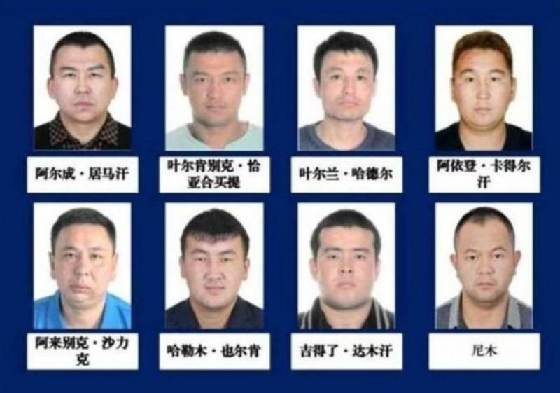 新疆當局為定罪8名少數民族穆斯林,竟向當地民眾「徵求」犯罪線索。(擷取自《自由亞洲電台》)