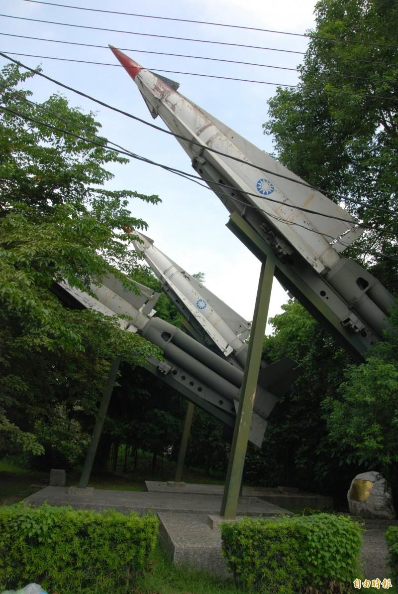 台灣飛彈部隊退伍老兵表示,1960年代的勝利女神飛彈就可擊落福建上空解放軍機,而我國的勝利女神飛彈在除役之後,陸續送交各地公園做為造景之用。(資料照)