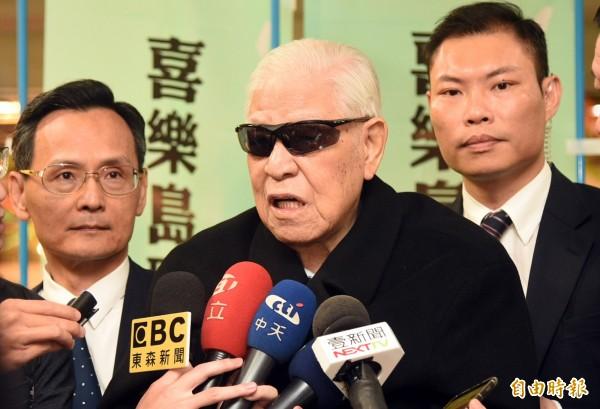 日本產經新聞從3日起連載「李登輝秘錄」,今日內容指出,與中國共產黨的幹部極密接觸的前總統府資政曾永賢,在前總統李登輝指示下進入北京後,見到前中國國家主席楊尚昆。(資料照)