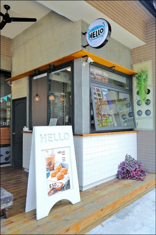 HELLO Burger店景圖。(記者李惠洲/攝影)