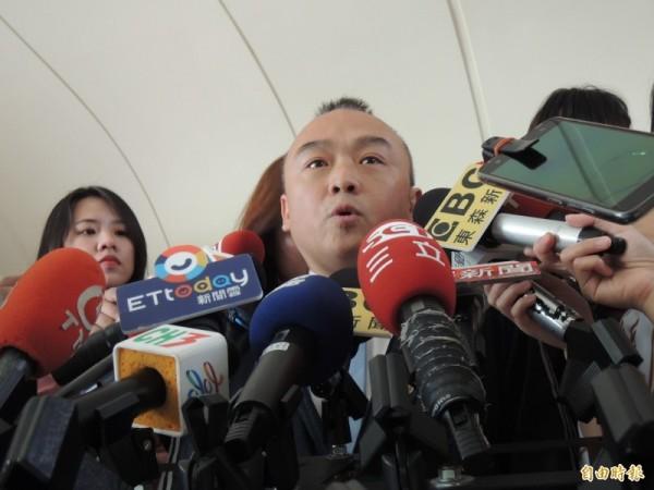 高雄觀光局長潘恆旭今嗆王浩宇,不可能有膽來高雄參選立委,「因為來的話會被很多人吐痰」。(資料照)