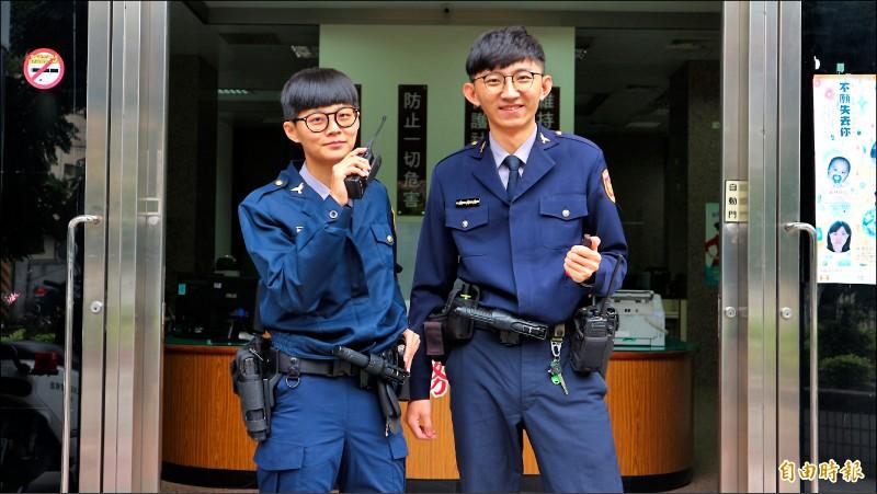 跟屁蟲長大了 警察姊弟檔以彼此為榮