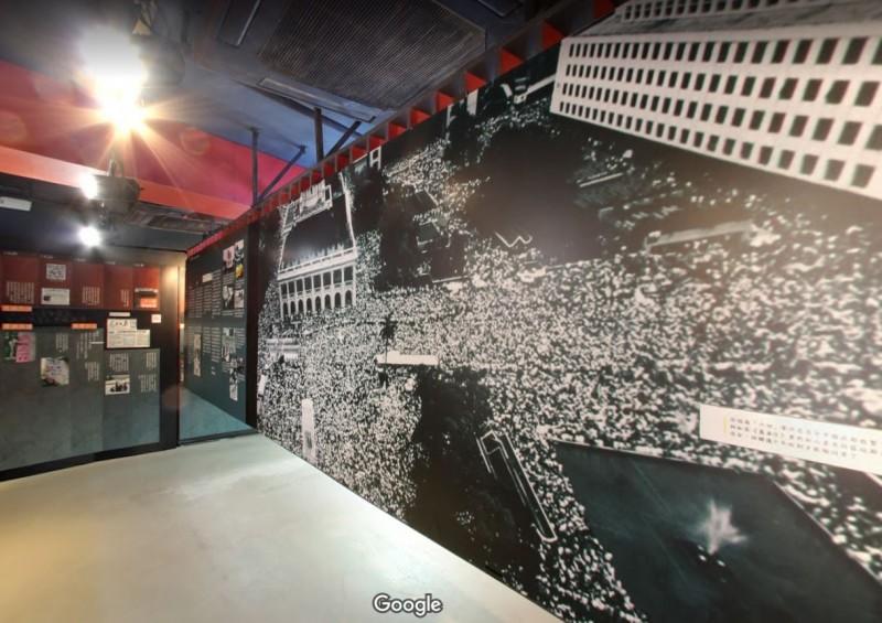 未開幕的香港六四紀念館新址今早遭蓄意破壞。圖為六四紀念館舊址。(圖擷取自Google街景)