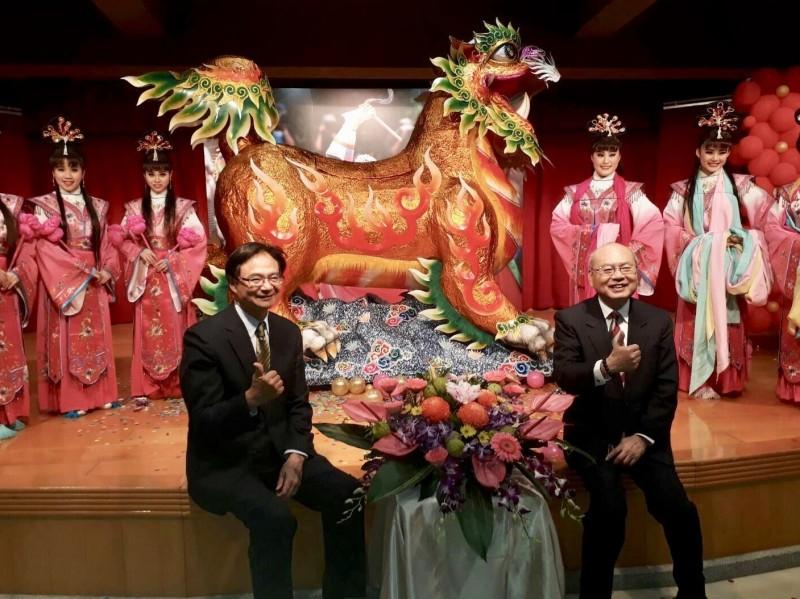保安宮將在農曆3月14日(4月18日)進行放火獅。(北市民政局提供)