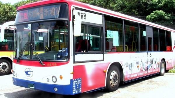 指南客運橫跨雙北的四百多輛公車是透過華為4G網卡提供網路。(交通局提供)