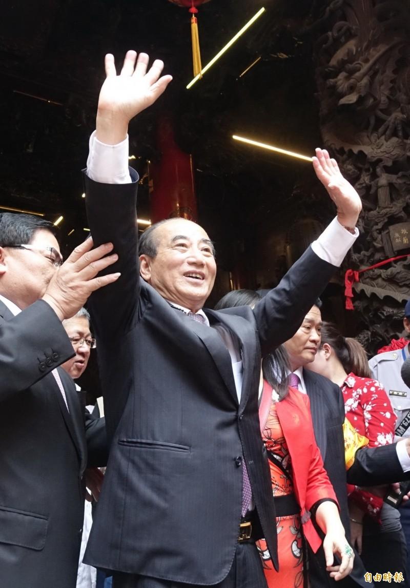 2020總統大選徵召韓國瑜?王金平(圖)堅持照提名辦法來。(資料照)