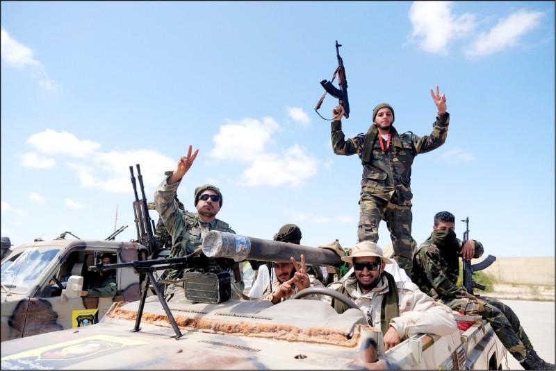 利比亞內戰一觸即發。(路透)