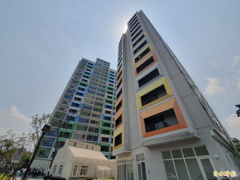 萬華區青年一期公宅明日開放申請。(記者林家宇攝)