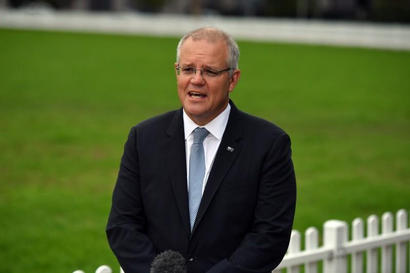 澳洲總理莫里森(見圖)稱阿山吉「不會享有母國的特別待遇」,至於引渡是美國的事,「和我們無關」。(歐新社)