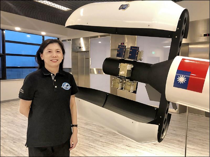 福七計畫主持人朱崇惠是台灣培育的衛星專家。 (中央社資料照)