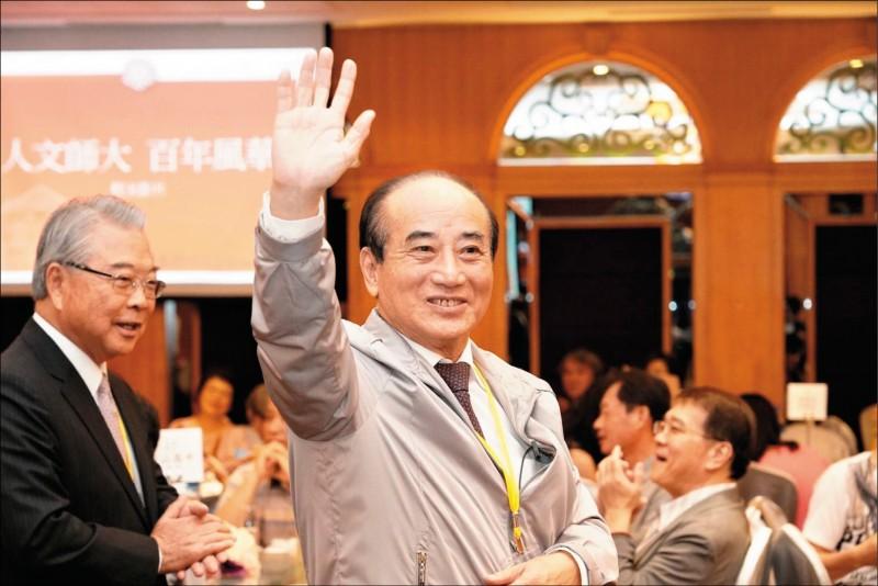 立委王金平昨重申參選到底的決心,強調遵照黨的提名機制走,每個黨員都有這個權利。(記者王榮祥翻攝)