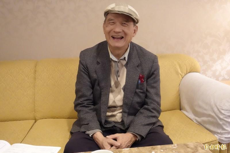 宣布退出民進黨的前國防部長蔡明憲,14日參加在東京舉辦的加拿大台灣同鄉會年會時接受本報訪問。(記者林翠儀攝)