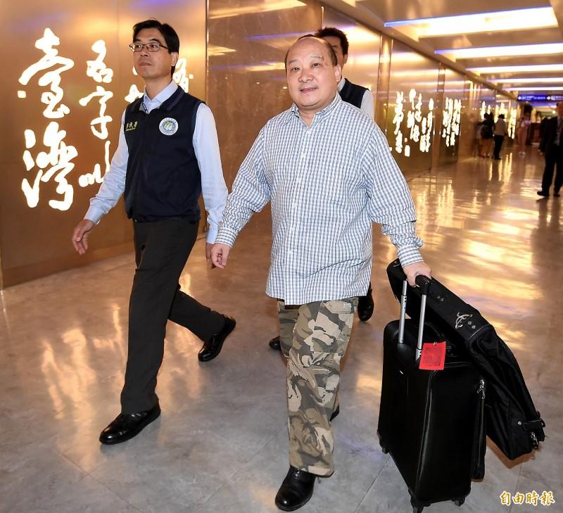 主張武統台灣的中國學者李毅,12日遭移民署驅逐出境。(資料照)