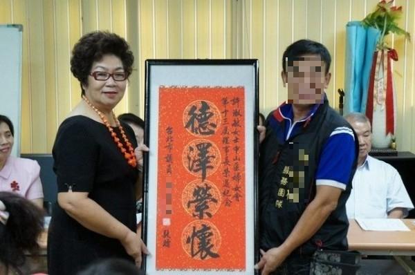 曾任台北市中山區婦女會理事長,現任台北市婦女會常務理事許淑敏,去年7月31日駕車肇事撞死人。(記者陳恩惠翻攝)