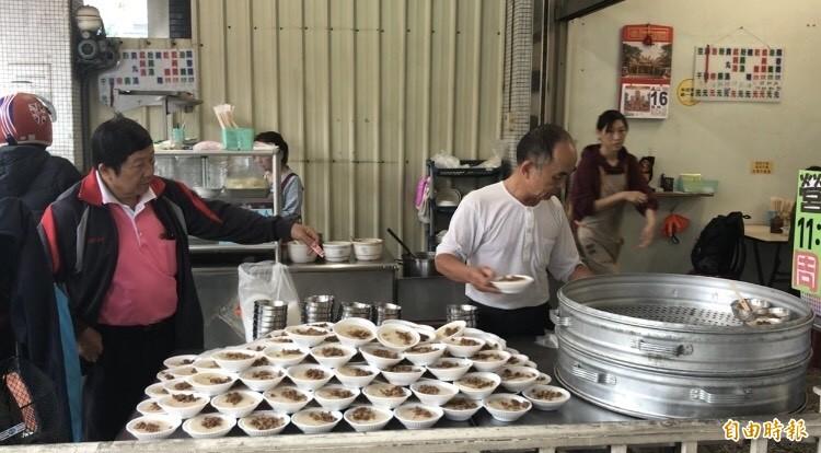 「顯碗粿」是北斗人的最愛,40年來堅持的好味道。(記者顏宏駿攝)