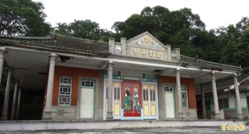 彰化二水碧雲禪寺,為歷史悠久的古寺。(資料照)