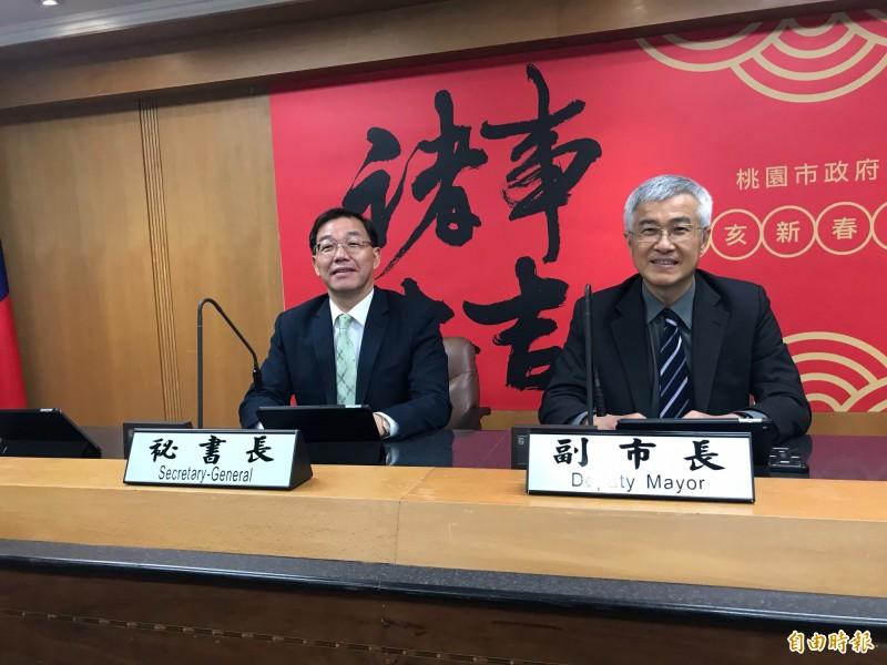 不甩派系 鄭文燦公布李憲明陞任副市長、黃治峯接秘書長
