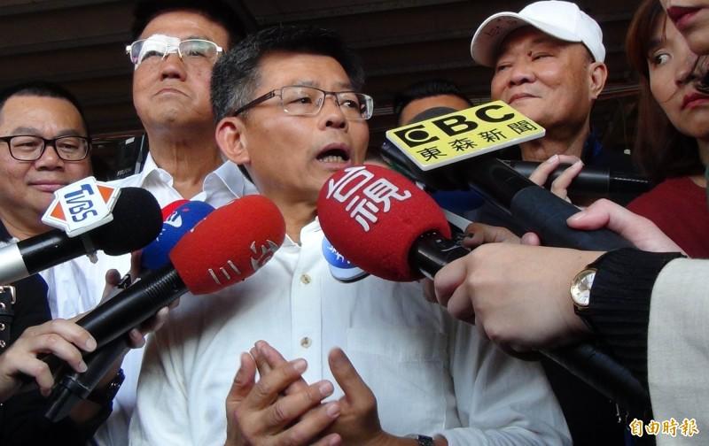 前高雄縣長、現任高雄市政府兩岸小組副召集人楊秋興受訪時說,他曾鼓勵郭台銘參選,也希望韓國瑜先把市政搞好。(資料照)