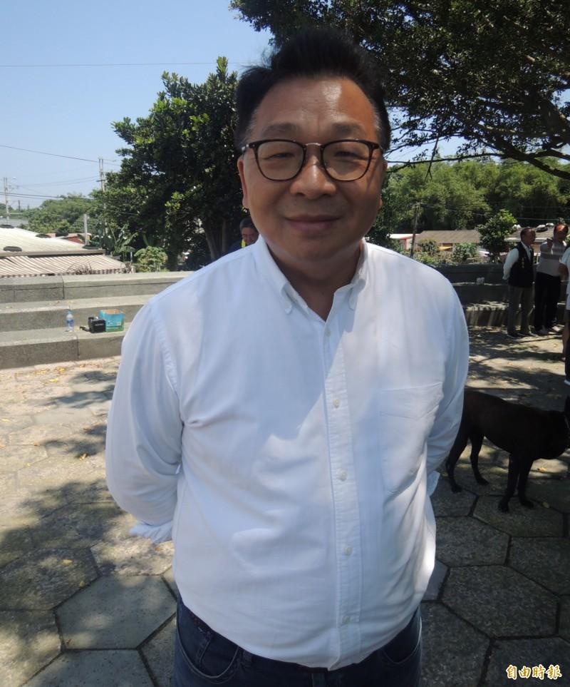 立委陳歐珀尋求連任。(記者江志雄攝)