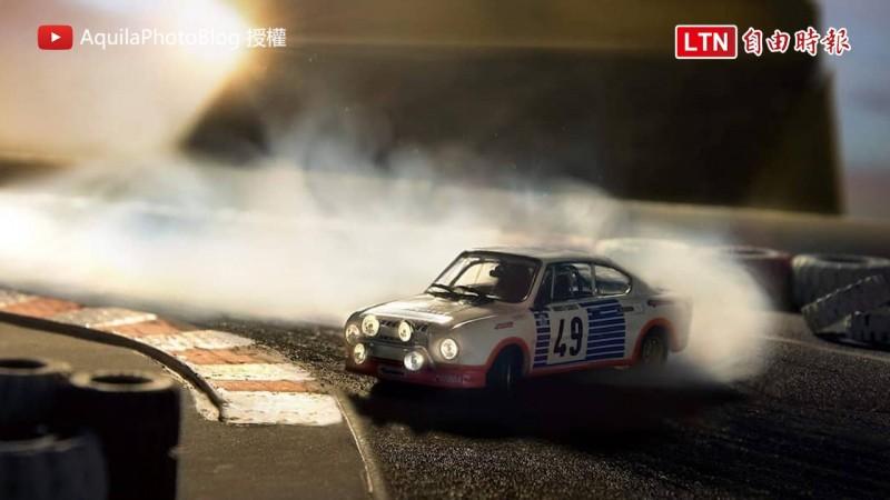 Benedek Lampert受Škoda委託,拍攝一系列帥氣的模型車照片。(圖片由Benedek Lampert授權)