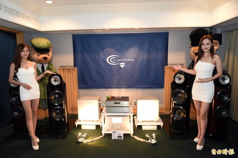 第 19 屆「高雄國際 HI-END 音響大展」在國賓大飯店登場。(記者張忠義攝)