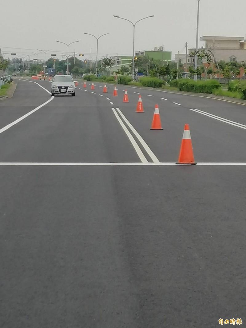 提升用路人安全 中市議長張清照爭取翻新漁港路