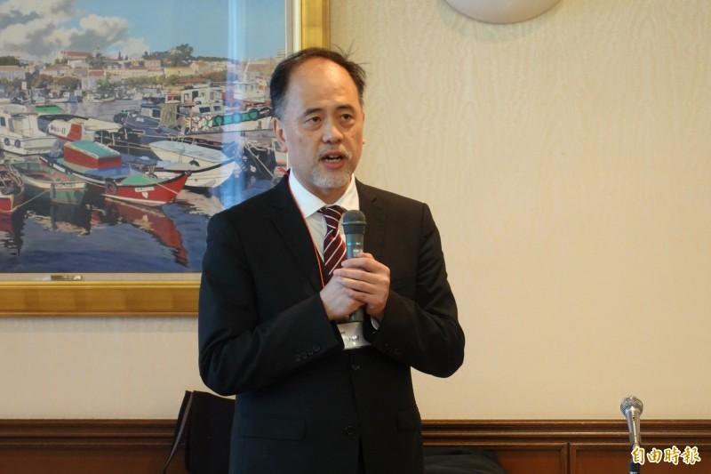 新任國家安全會議諮詢委員林成蔚。(記者林翠儀攝)