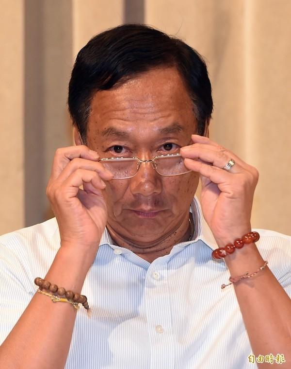 鴻海董事長郭台銘。(資料照)
