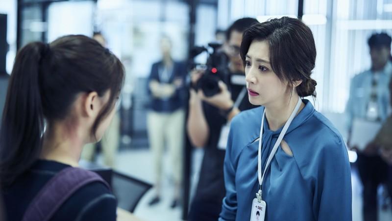賈靜雯、溫昇豪主演《我們與惡的距離》本週日將播出完結篇,不料結局竟提前外洩。(資料照)