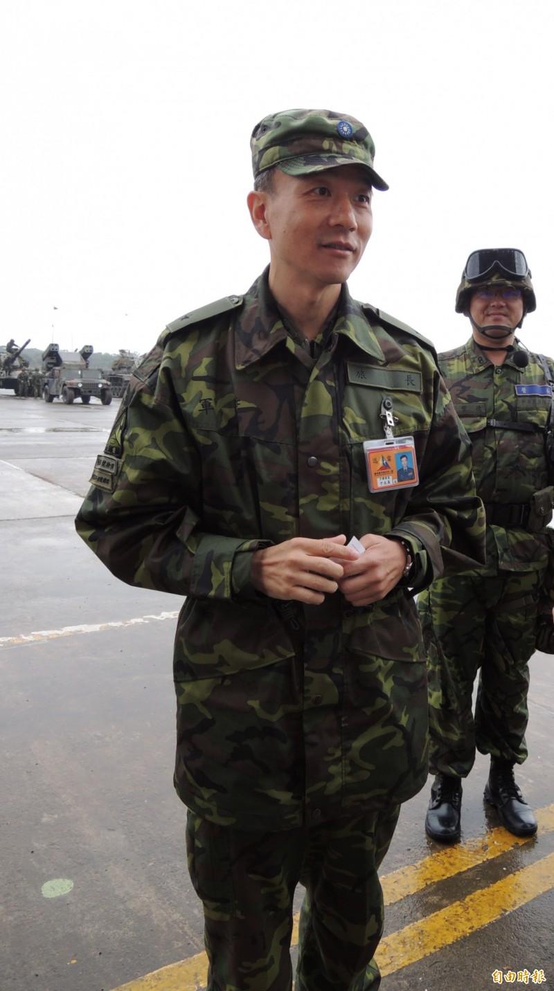 陸軍542旅長的退役少將于北辰(前)說,軍法移到一般司法機關執行後出現許多荒謬判決,造成軍紀渙散,也讓軍隊失去軍魂。(資料照)
