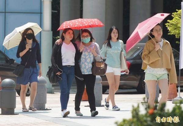 週日出門帶雨具!天氣不穩定 中部以北降雨機率高