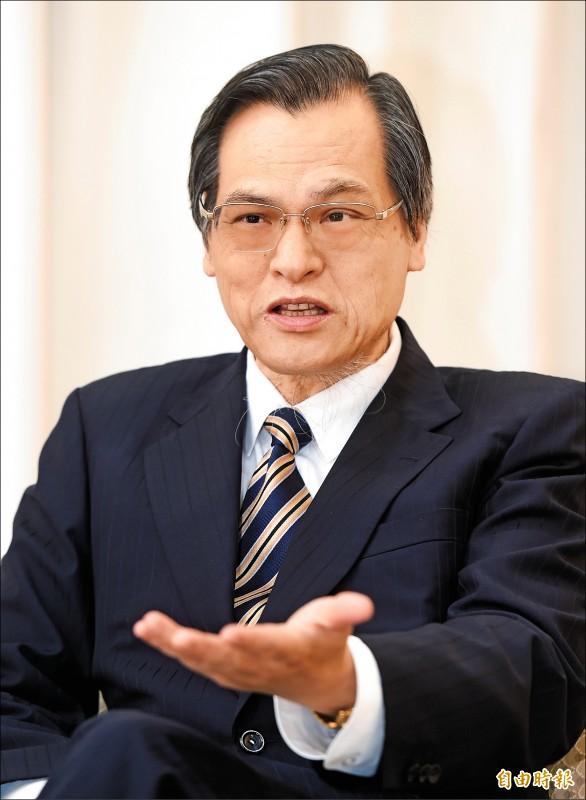 陸委會主委陳明通(記者方賓照攝)