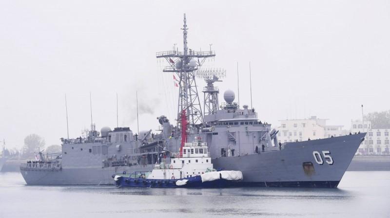 澳洲皇家海軍派出飛彈護衛艦「墨爾本號」前往青島(美聯社)