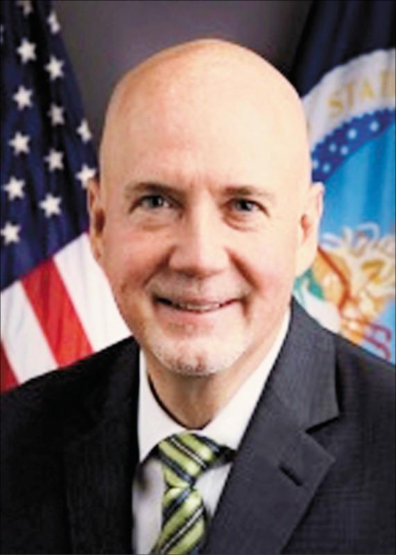 美國農業部(USDA)首次組貿易團來台,由海外服務署長艾斯里率領。 (取自AIT官網)