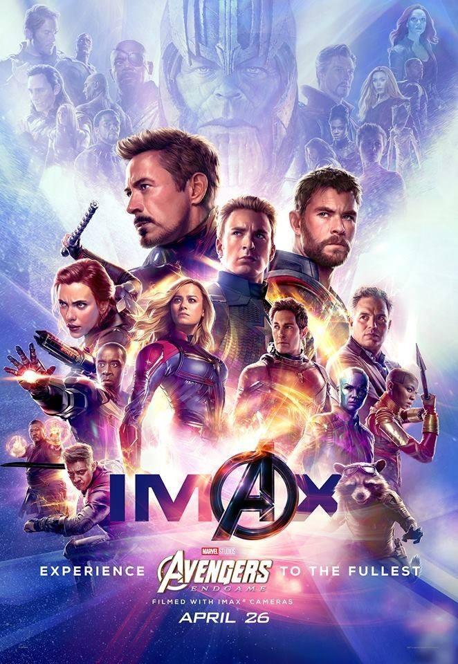 《復仇者聯盟4》將於明(24)日6點起在台上映。(圖擷取自臉書「Marvel」)