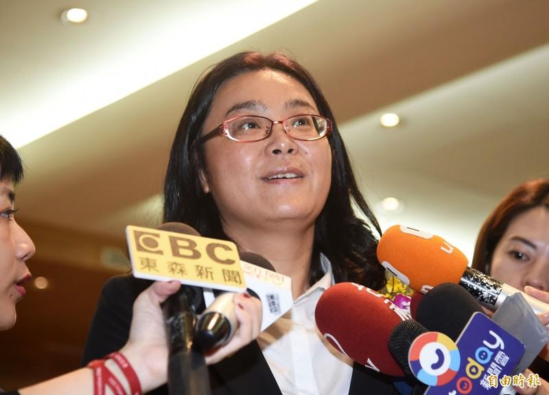 無黨籍立委陳玉珍在臉書控訴說,她中選會主委人事案衝突現場,聽到2位女性綠委叫囂「金門豬」、「滾回中國去」等語。(資料照)