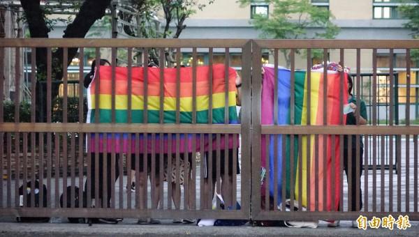 「信望愛基金會」推動新版同婚法案,並以「同性結合」來指稱同婚關係。(本報資料照)