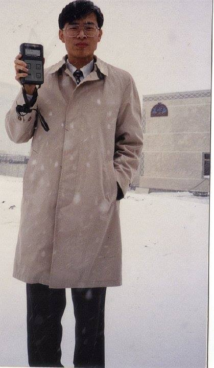 陳其邁表示,他在23年前,曾和多位人士一同前往烏克蘭車諾比進行考察。(圖擷取自陳其邁FB)