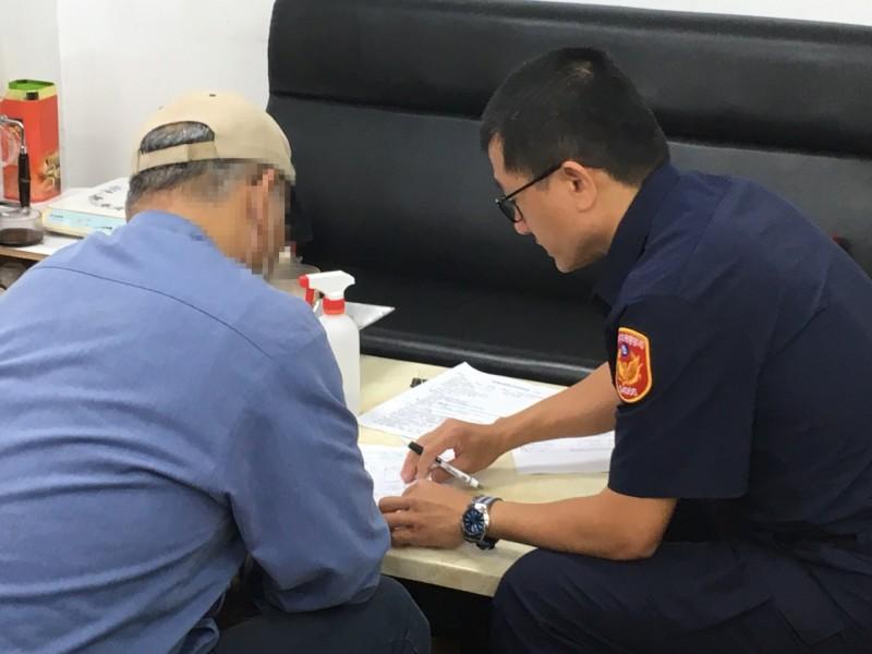 警方主動聯繫上失蹤人口家屬,在無名屍資料庫中比對出失蹤民眾身分。(記者王宣晴翻攝)
