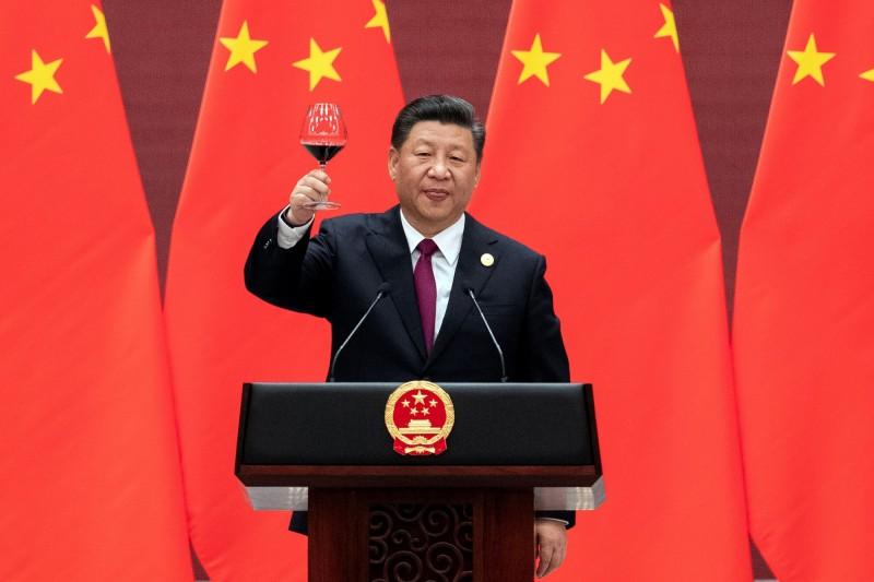 中國領導人習近平疑似又口誤,將「精湛」說成「精甚」。(路透)