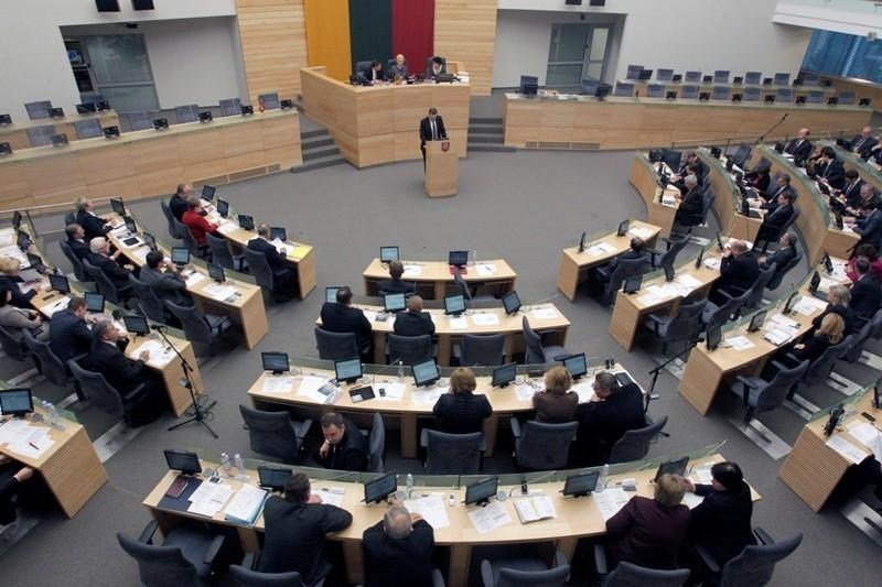 立陶宛國會議場。(路透檔案照)