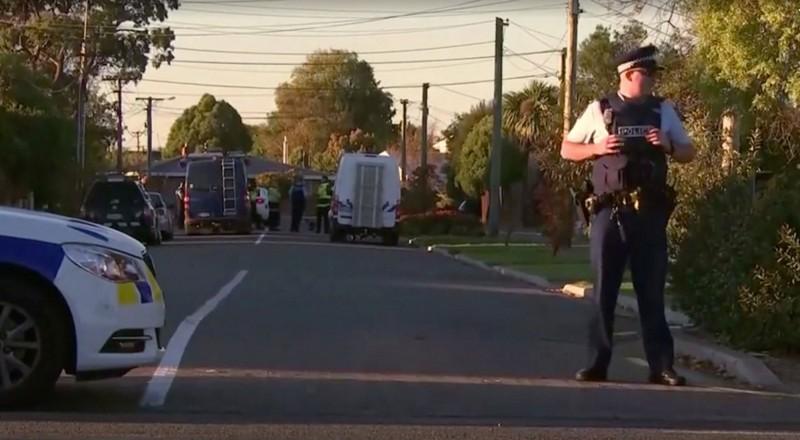 紐西蘭基督城今天再傳炸彈威脅,警方已逮捕一名涉案男子。(路透)