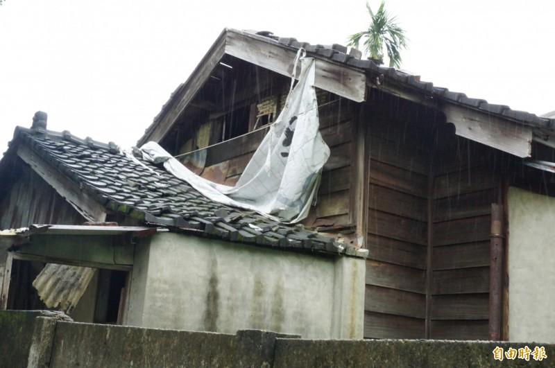 「豐原林務局宿舍群」,遲未修復。(記者歐素美攝)