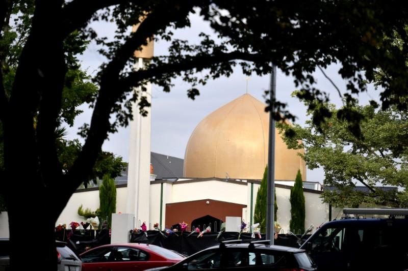 紐西蘭基督城清真寺恐怖攻擊的死亡人數上升至51人。(歐新社)