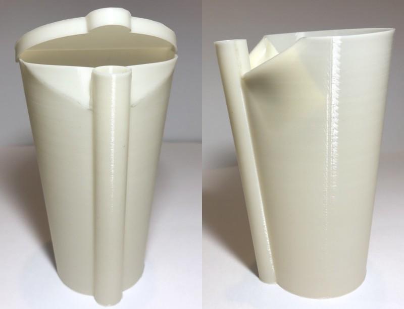 劉良成研發的「具吸管功能之容器」。(記者洪臣宏翻攝)